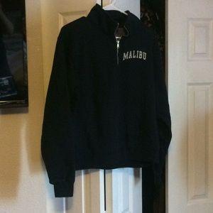 Brandy Melville Malibu Half ZIP